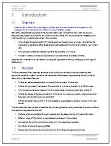 Software Documentation Template by Documentation Plan Template Information Design Flickr