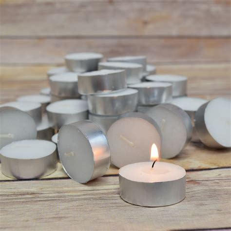 beeswax tea lights bulk wax tea light in bulk unscented standard 50 pack