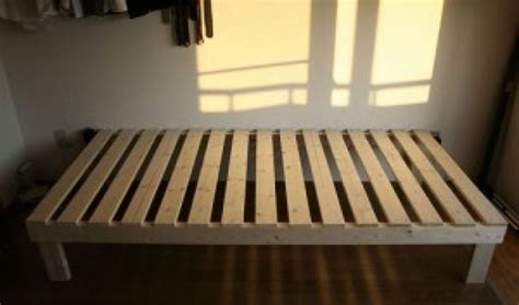 How To Make A Simple Bed Frame How To Build A Bed Frame Diy And Repair Guides