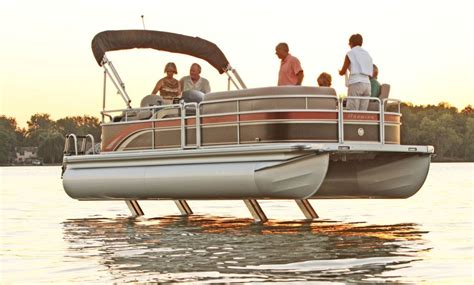 boat lift post bumpers how to pontoon legs pontoon deck boat magazine