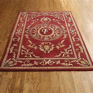 wallace monogram wool area rug traditional rugs
