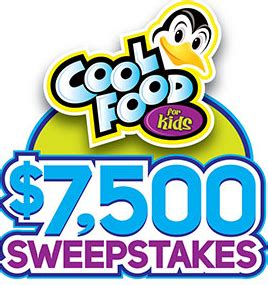 Easy Home Meals Sweepstakes - easy home meals quot cool food for kids quot 7 500 sweepstakes win 5 000