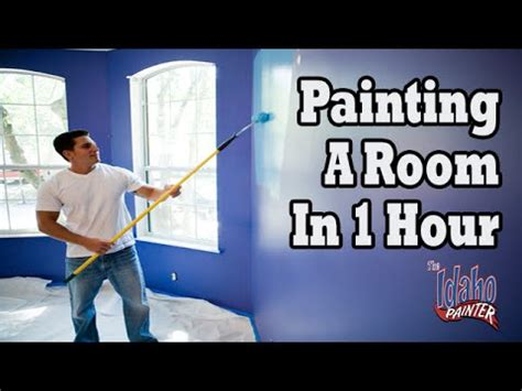 paint a room quickly tips painting a room in 1 hour diy how to paint walls fast