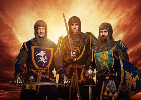 a knight of the medieval knights on aboutbritain com