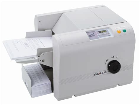 Paper Folding Machine Australia - ideal 8324 a4 paper folder direct national business