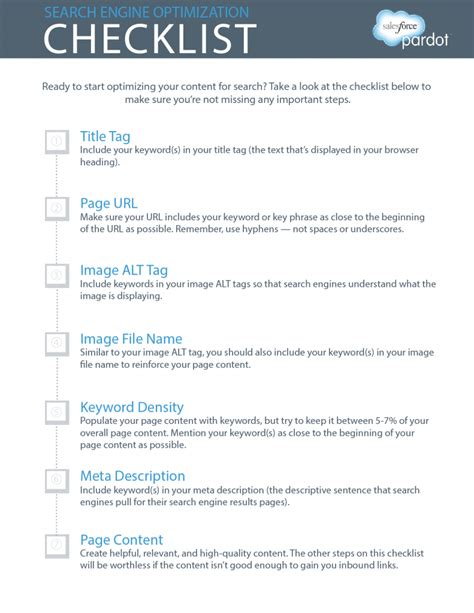 seo checklist template small engine tools checklist small free engine image for