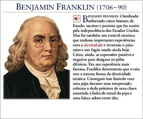 biography of benjamin franklin resumen biografia resumida de benjamin franklin