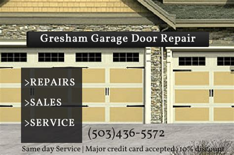 Garage Door Repair Beaverton Gresham Garage Door Repair 503 436 5572
