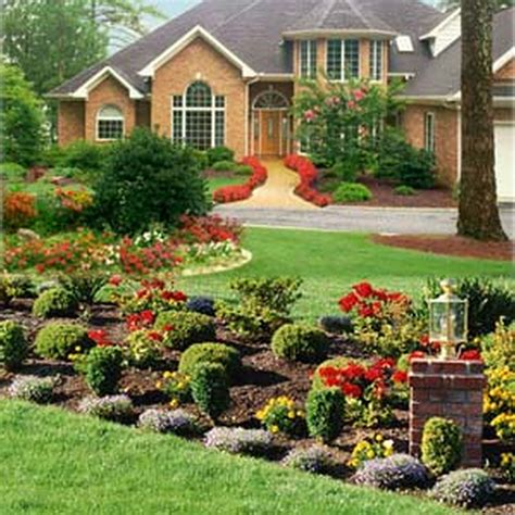 House Landscape by Gravel And Grass Landscaping Ideas Landscaping