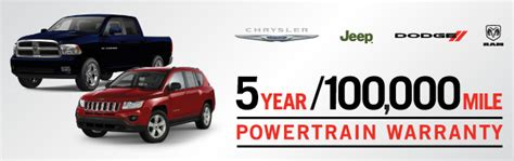 warranty and coverage for new dodge and chrysler cars