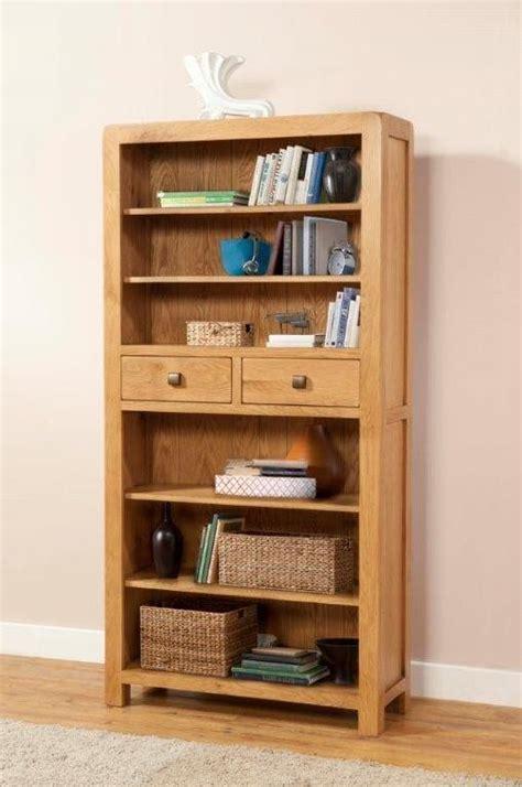 oak bookcase with drawers radford oak bookcase with 2 drawers bookcases office