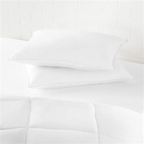 bed pillow manufacturers amazonbasics down alternative bed pillows 2 pack soft