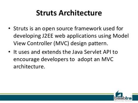 design pattern used in struts struts framework