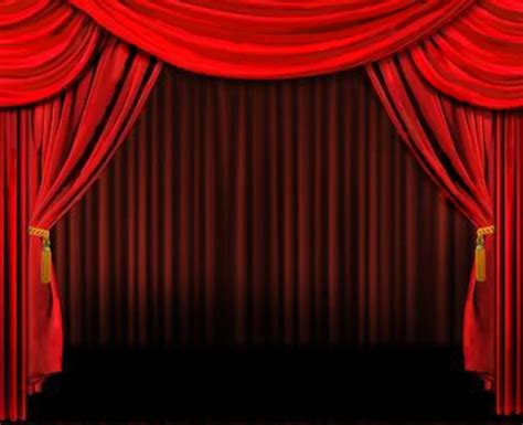 curtain art red curtain clipart clipart suggest