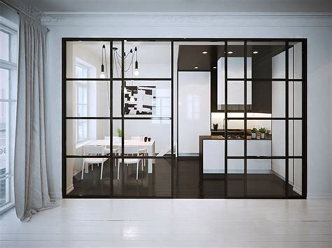 Black Glass Kitchen Doors by I Can T Get Enough Of These Stunning Black Framed Glass Doors Design Black