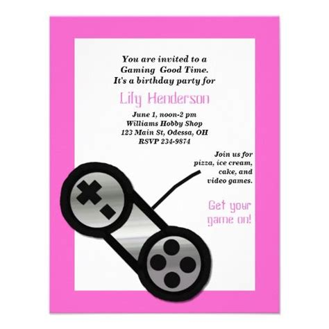 invitation design games video game party invites a collection of design ideas to