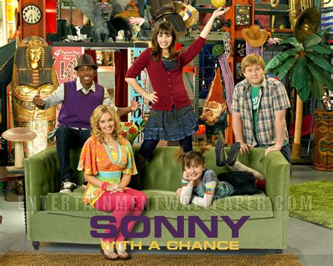 with the cast sonny with a chance cast images cast in the prop house hd wallpaper and background
