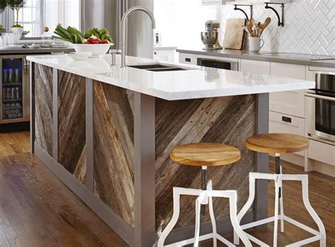reclaimed wood island 89 best pallet rooms images on kitchens