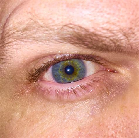 interesting colors my tells me i an interesting eye color