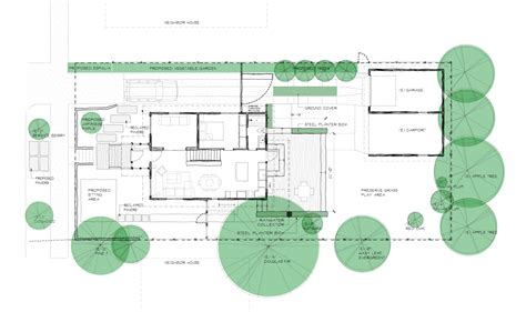House Plans by Site Plan Chezerbey