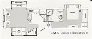Winnebago Fifth Wheel Floor Plans 2008 Winnebago Sunnybrook Titan 33cktsltd Used 5th Wheel