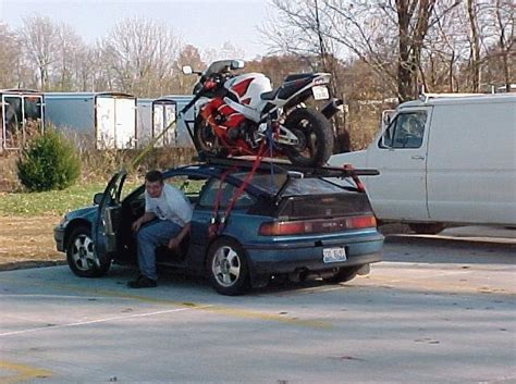 civic towing boat towing a trailer w sportbike with a civic page 4