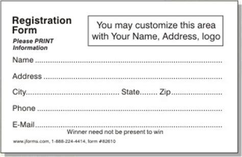 Registration Form 82610 By Jforms Com Product Registration Form Template