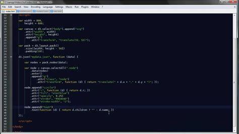 pack layout d3 js d3 js tutorial 16 cluster pack bubble layouts youtube