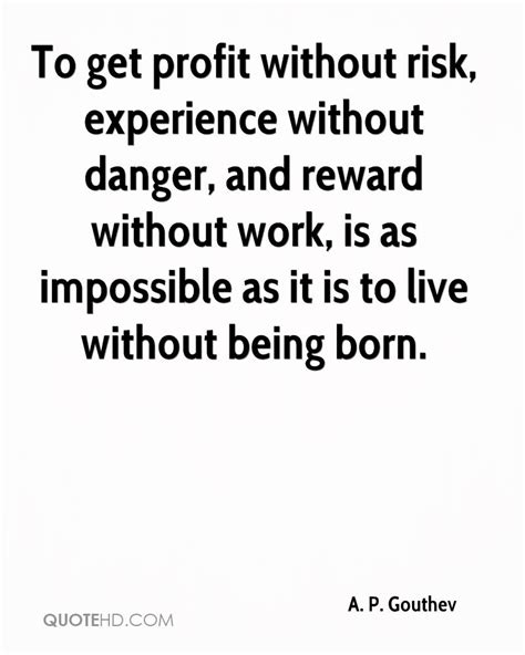 Getting An Mba Without Professional Experience by Risk Vs Reward Quotes Quotesgram