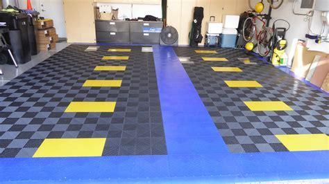Rubber Flooring For A Garage Breathtaking Rubber Garage