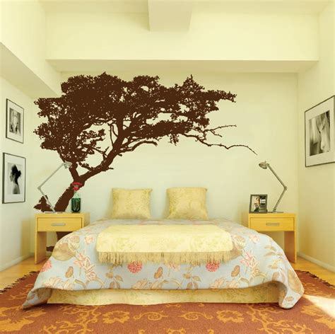 tree wall stickers for bedrooms large wall tree decal forest decor vinyl sticker highly