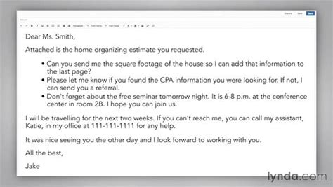 Understanding Etiquette Within The Body Of An Email Trying To Reach You Email Template