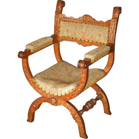 Savonarola Chair by Oak Savonarola Chair Armchair From