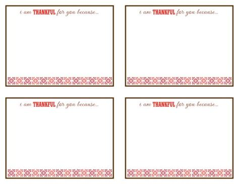 because i said i would card template 123 best images about thank you on printable