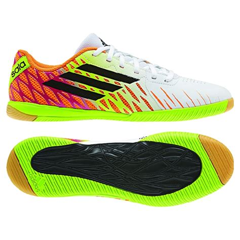 soccer indoor shoes adidas freefootball speedtrick indoor soccer shoes white