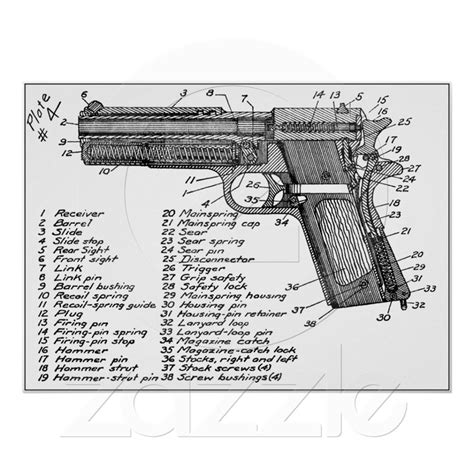 gun diagram 196 best images about firearms blueprints diagrams on pistols guns and firearms