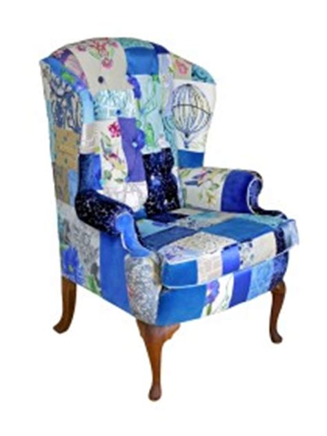 Patchwork Armchair For Sale - bespoke chairs for sale by