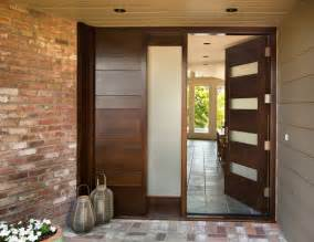 Contemporary Double Front Door by Bloombety Contemporary Entry Doors Plants Flowers With