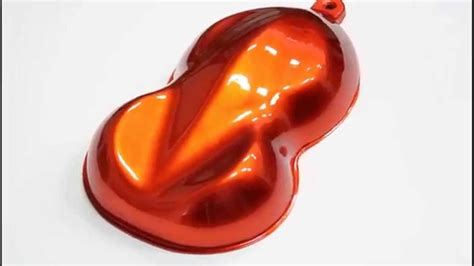 tangerine paint urekem paints tangerine over light gold 2k urethane