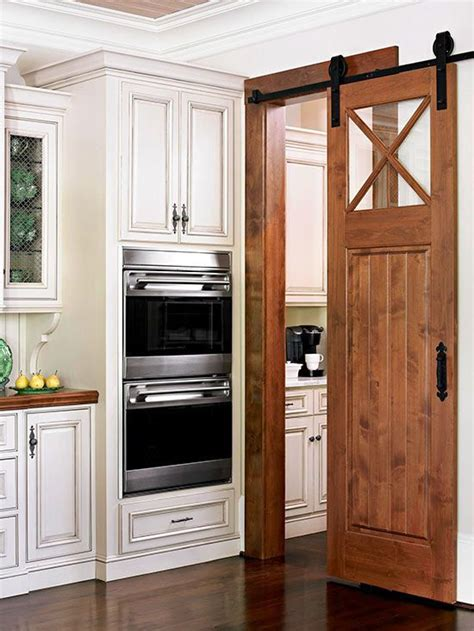 Barn Door In Kitchen Barn Doors With Style Craftsman Kitchen Handles And Barn Doors