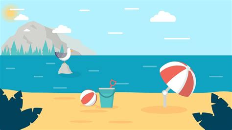illustrator tutorial night scene illustrator design process beach scene illustration illustrator cc