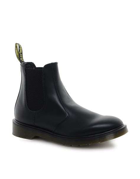 dr martens chelsea boot dr martens original chelsea boots in black for lyst
