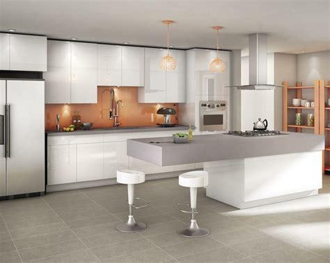 cocinas en blanco y gris cocina abierta moderna en blanco y gris im 225 genes y fotos