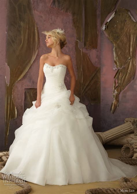 mori wedding dresses 2012 wedding inspirasi