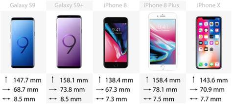 مقایسه گلکسی اس 9 و اس 9 پلاس با آیفون ایکس آیفون 8 و 8 پلاس گجت نیوز