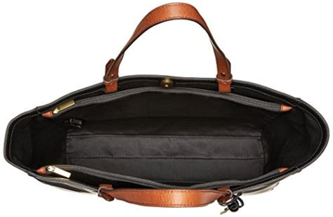 Fossil Rachele Tote Black fossil work tote black frenzystyle