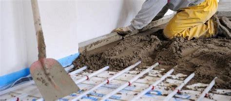 smantellare pavimento impianto di riscaldamento a pavimento cosa sapere