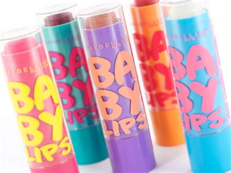 Unsung Makeup Heroes Maybelline Baby Lip Balms