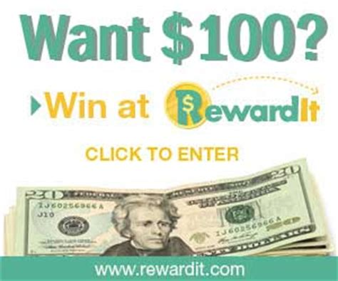 Rewardit Sweepstakes - ready to win 11 sweepstakes 100 25k 1 mill ipad and more