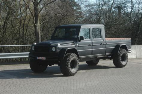 Monster Mercedes Benz G Wagen Pick Truck Conversion